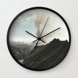 Far Views - Landscape Photography Wall Clock
