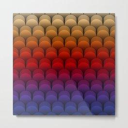 The Barrel (Multi-colored) Metal Print