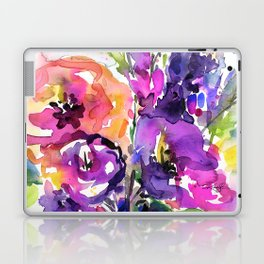 Floral Dance No. 5 by Kathy Morton Stanion Laptop & iPad Skin