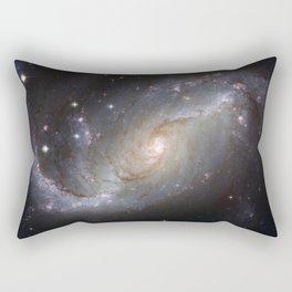Barred Spiral Galaxy NGC 1672 Rectangular Pillow