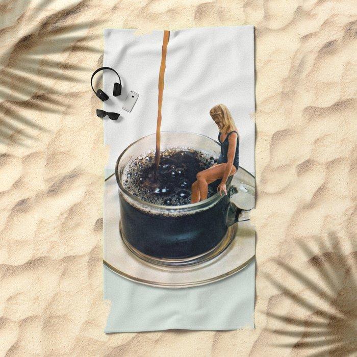 COFFEE Beach Towel