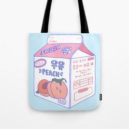 Peach Milk Tote Bag