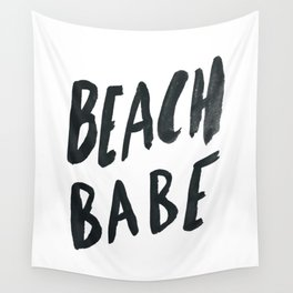 Beach Babe Wall Tapestry