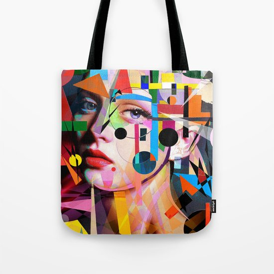 SHE LOVES COLORS Tote Bag