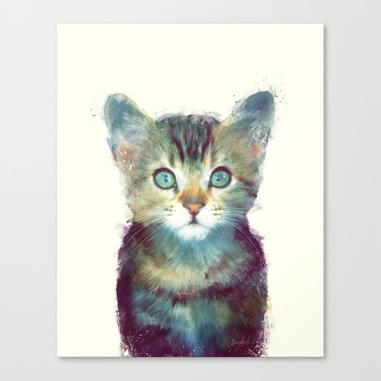 Cat // Aware Canvas Print