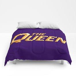The Queen Full Logo Comforters
