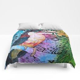 The Origin of the Aracari ( Toucan Bird Whisperer Project ) Comforters