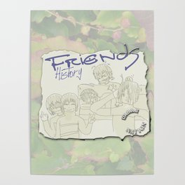 Friends History Poster