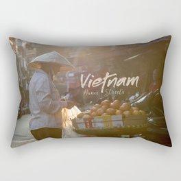 Vietnam street market Rectangular Pillow