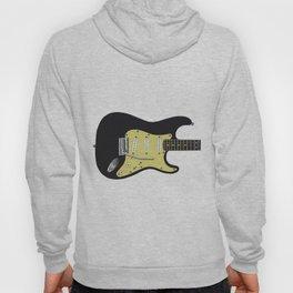Black Electric Guitar Hoody