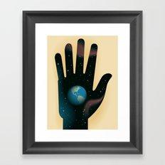 Hand of Creation Framed Art Print