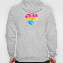 Pansexual Heart design LGBTQ Pride Gift Idea Hoody