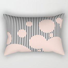 Strawberries and Cream Dream Rectangular Pillow