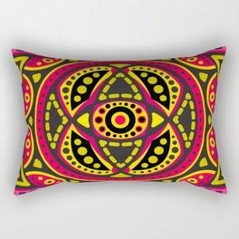 Mandala Wisdom of The Sun Rectangular Pillow