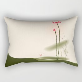 Oriental Lotus 002 Rectangular Pillow
