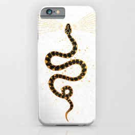 Dark Snake Inktober :: Sleep Copiously iPhone Case