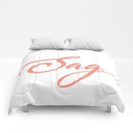 Sag Comforters