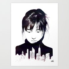 City Girl Art Print