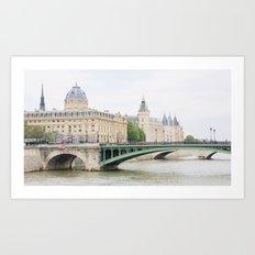 This is Paris Art Print