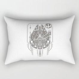 Falcon & the Rebel Rectangular Pillow