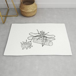 Summer pleasures - Firecamp Rug