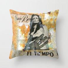 El Tiempo Throw Pillow