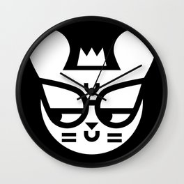 Skeptical Mouse Wall Clock