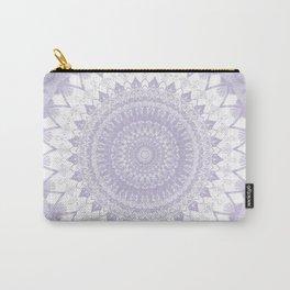 Boho Pastel Purple Mandala Carry-All Pouch