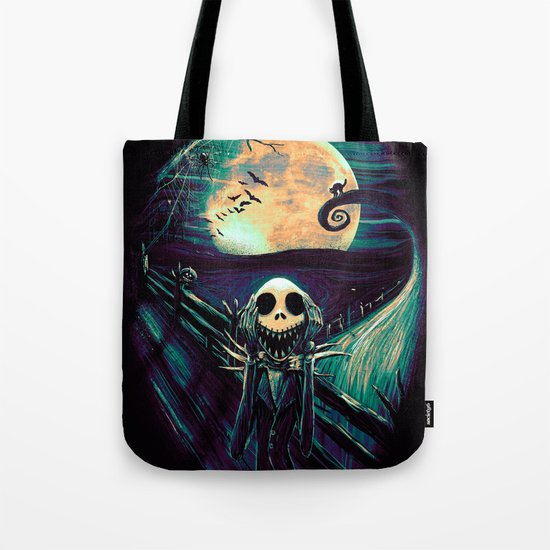 The Scream Before Christmas Tote Bag
