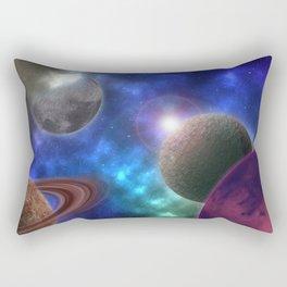 Space Expedition Rectangular Pillow