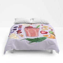 Smoothie Diagram Comforters