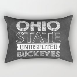 Undisputed Buckeyes Rectangular Pillow