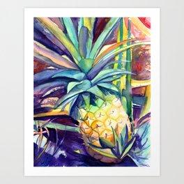 Kauai Pineapple 4 Art Print
