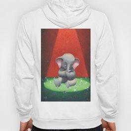 the elephant and its folds. Hoody