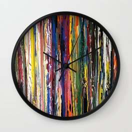 Running Color Wall Clock