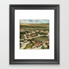 Model Houses  Framed Art Print