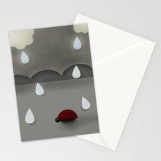 Run Lady Bug Stationery Cards