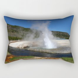 Thermal And Geyser Field Yellowstone NP Rectangular Pillow