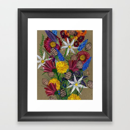 Boquet  Framed Art Print