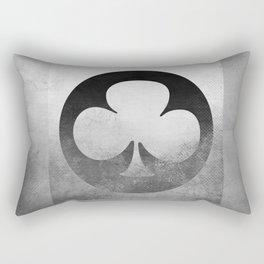 Ace of Trefoil V Rectangular Pillow