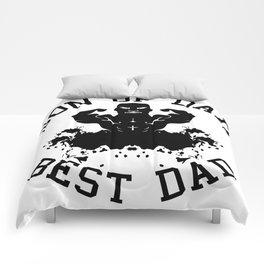Son of dad, best dad Comforters