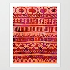 Noni- Orange Art Print