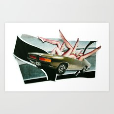 Muscle Magnet | Collage Art Print