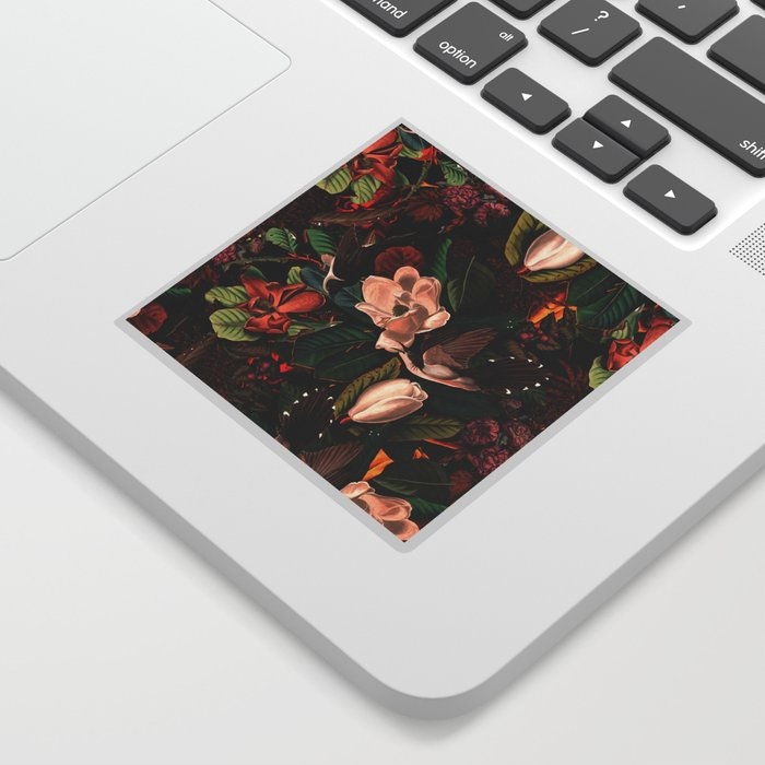 FLORAL AND BIRDS XIV Sticker