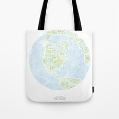 See the big picture Tote Bag