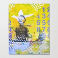 Numero Canvas Print