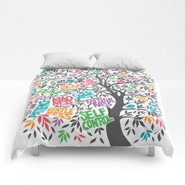 Fruit Of The Spirit (Full Color) Comforters