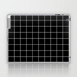 12 Grid Black White Minimal Modern Boho Laptop & iPad Skin