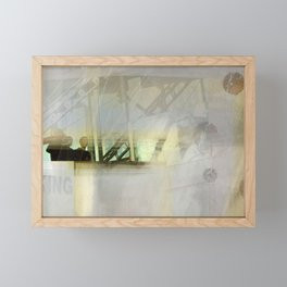 Transformative Space Revisited Framed Mini Art Print