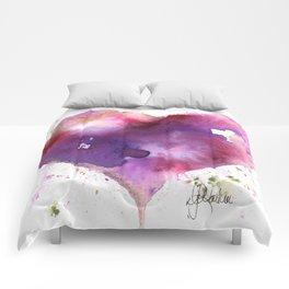 Purple Passion Comforters